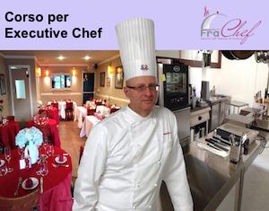 La locandina del corso per Executive Chef.