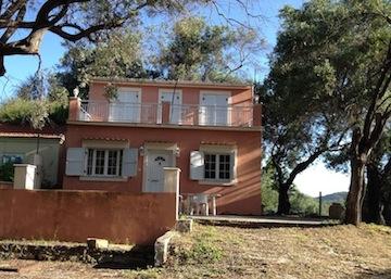 La casa ke mi ospita su Erikoussa, l'isola greca conosciuta anke come Merlera.