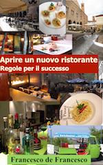 La copertina del libro Avviare un nuovo ristorante.