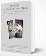 La copertina del libro - Diventa Restaurant Manager.