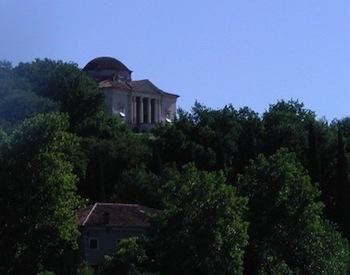 La Rocca Pisani, sulla collina di Lonigo.