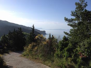 Vista mare da Ereikoussa.