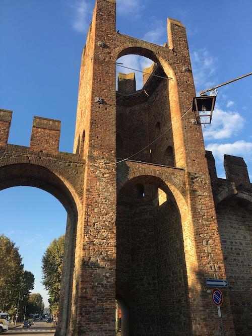 Una delle tante porte di Montagnana, sulle mura ve ne sono 24!